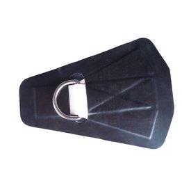 BRIG Brig sleep / hijsoog Heavy-Duty zwart PVC