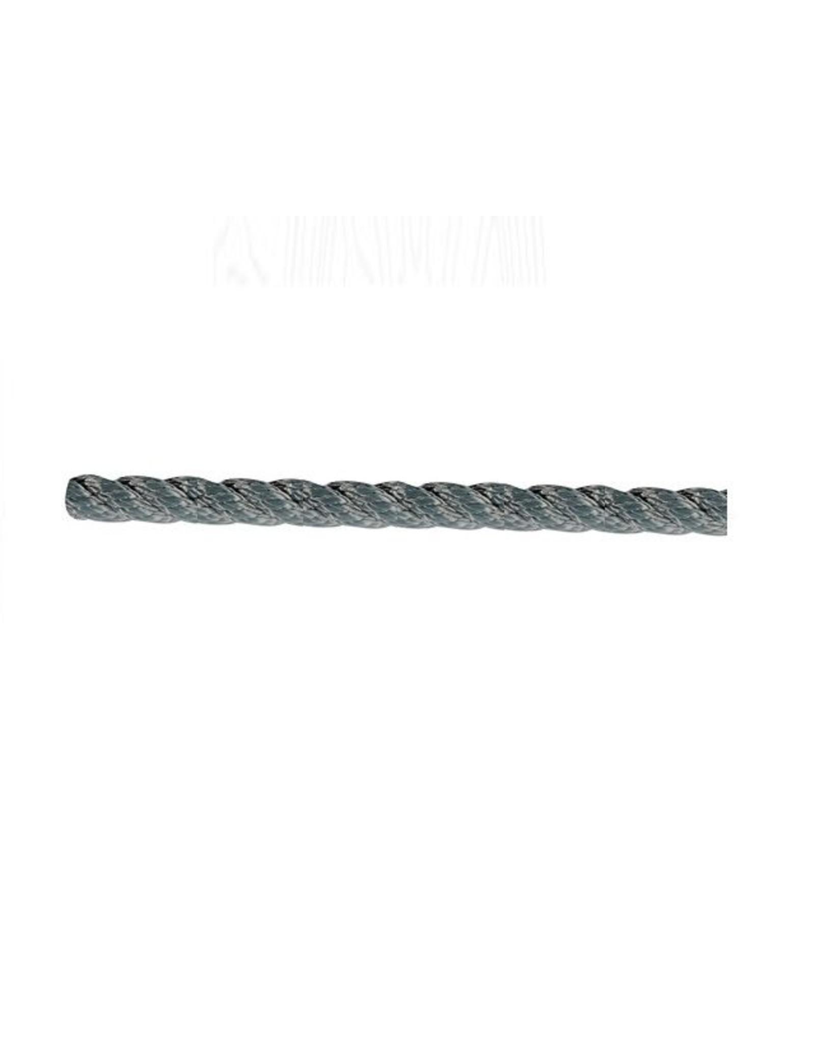 Grijs 12mm touw per meter
