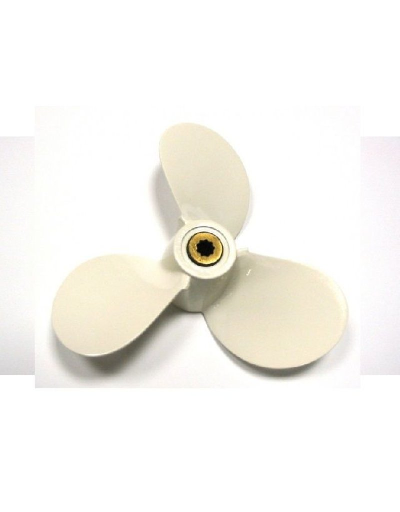 Hebor Watersport Aluminium propeller Yamaha 2.5 / 3 pk Hub BS