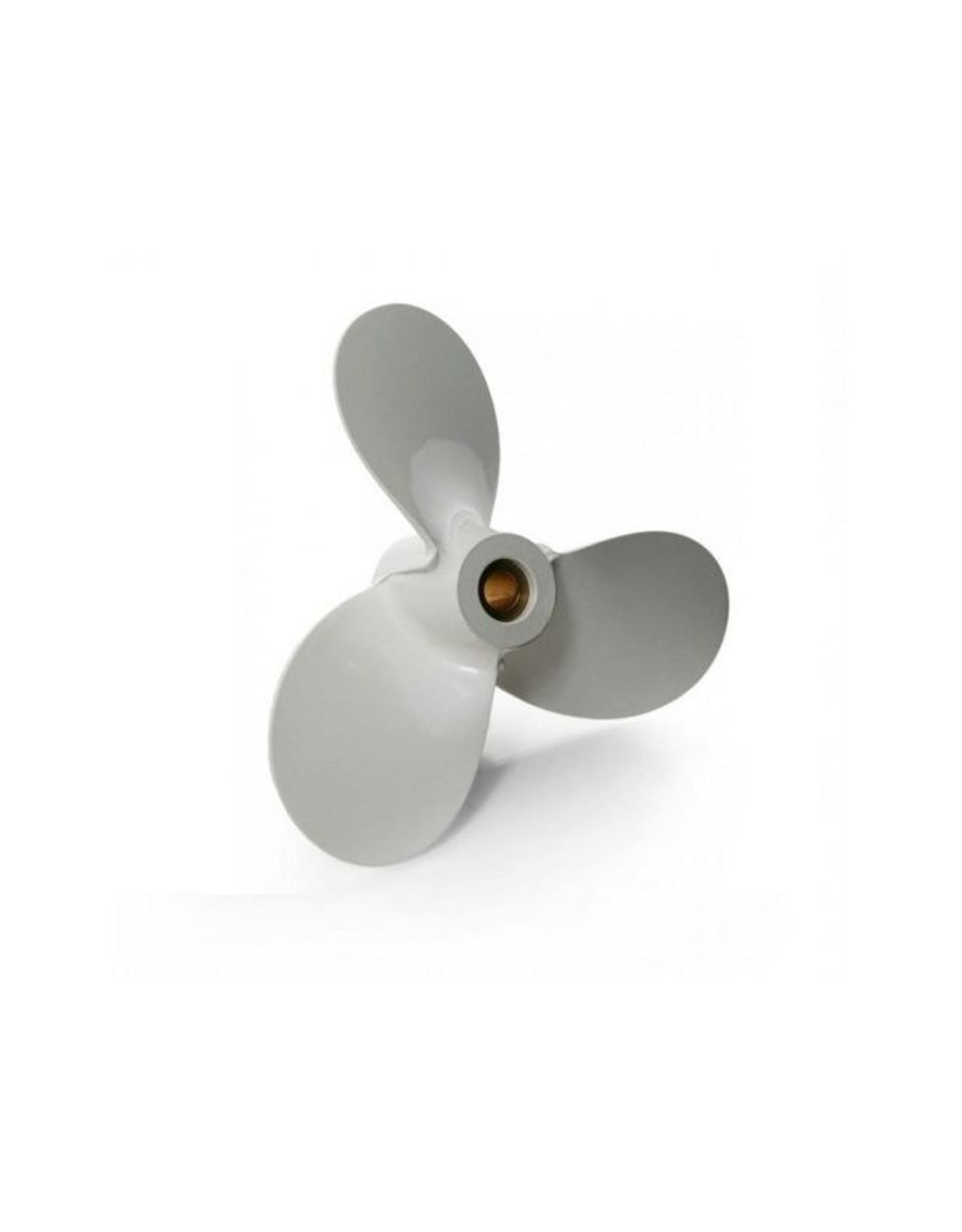 Hebor Watersport Aluminium propeller Yamaha 6 / 8 pk Hub C