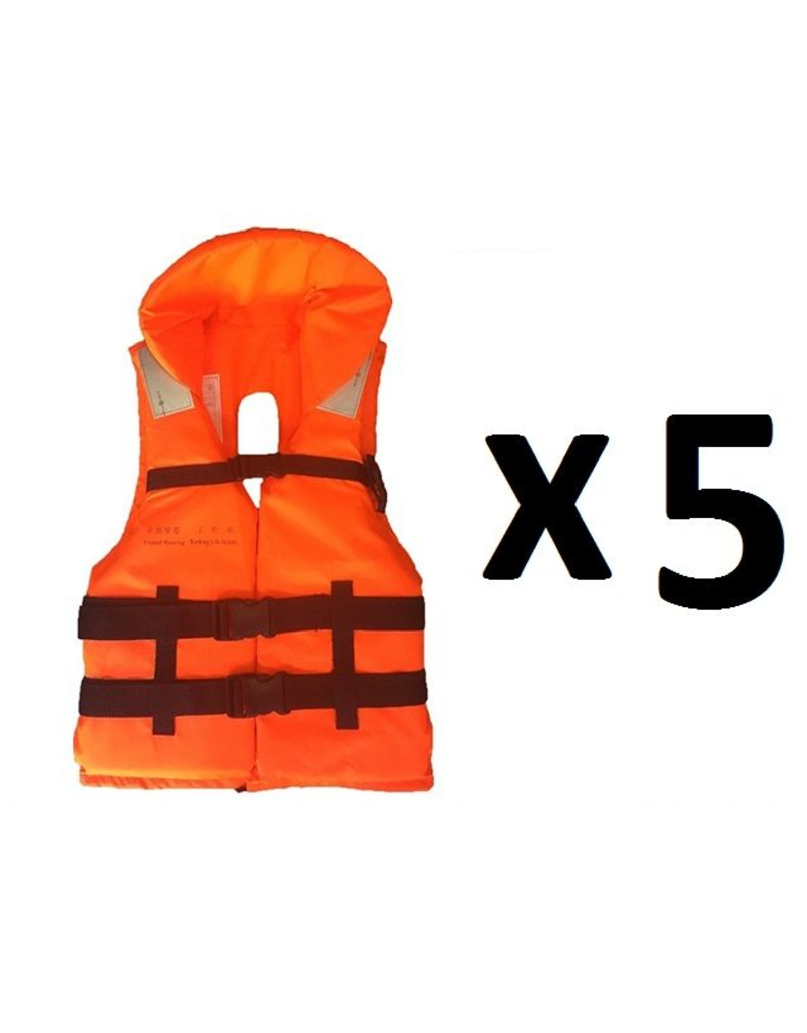 Hebor Watersport Pakket Reddingsvesten (5 stuks)