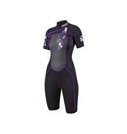 Hebor Watersport Jobe Shorty Indy Purple vrouwen wetsuit