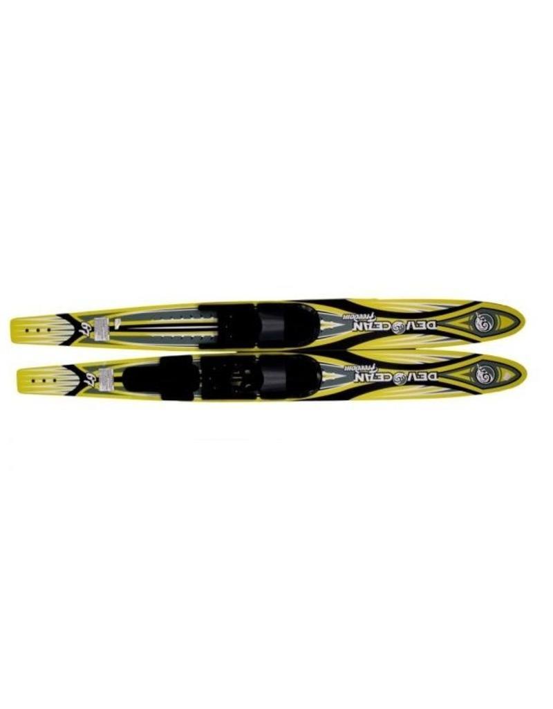 Hebor Watersport Devocean freedom ski's 67'