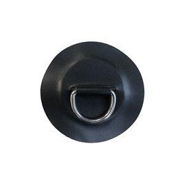BRIG BRIG Hypalon D-ring medium 12cm Zwart