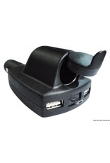 Osculati 12 V adapter + dubbele USB + micro USB
