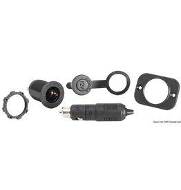 Osculati 12 V aansluiting + adapter