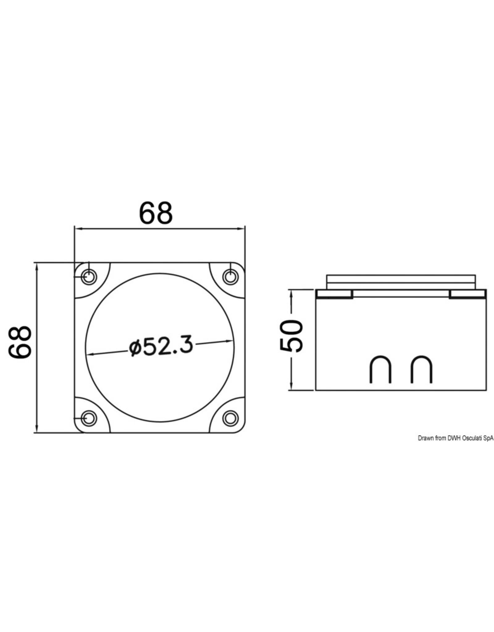 Osculati Spanningsgevoelig relais