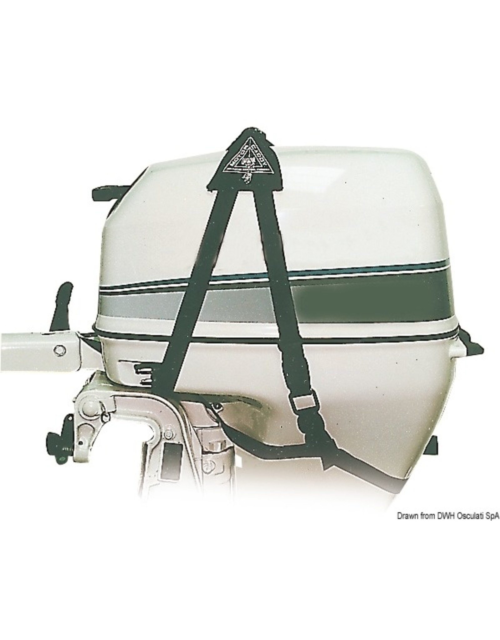 Osculati Harnas voor buitenboordmotoren 35/50 KG