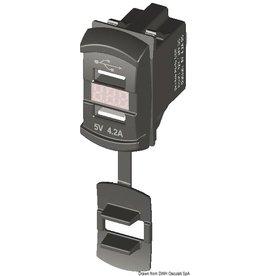 Osculati Carling schakelaar met dubbele USB aansluiting
