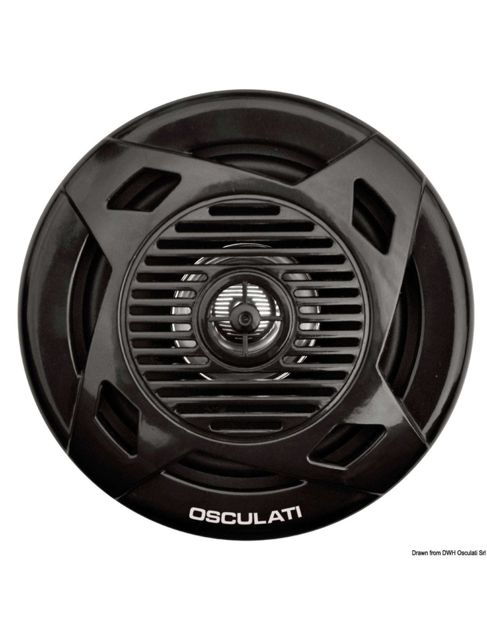 Osculati Dual cone loudspeaker wit/zwart