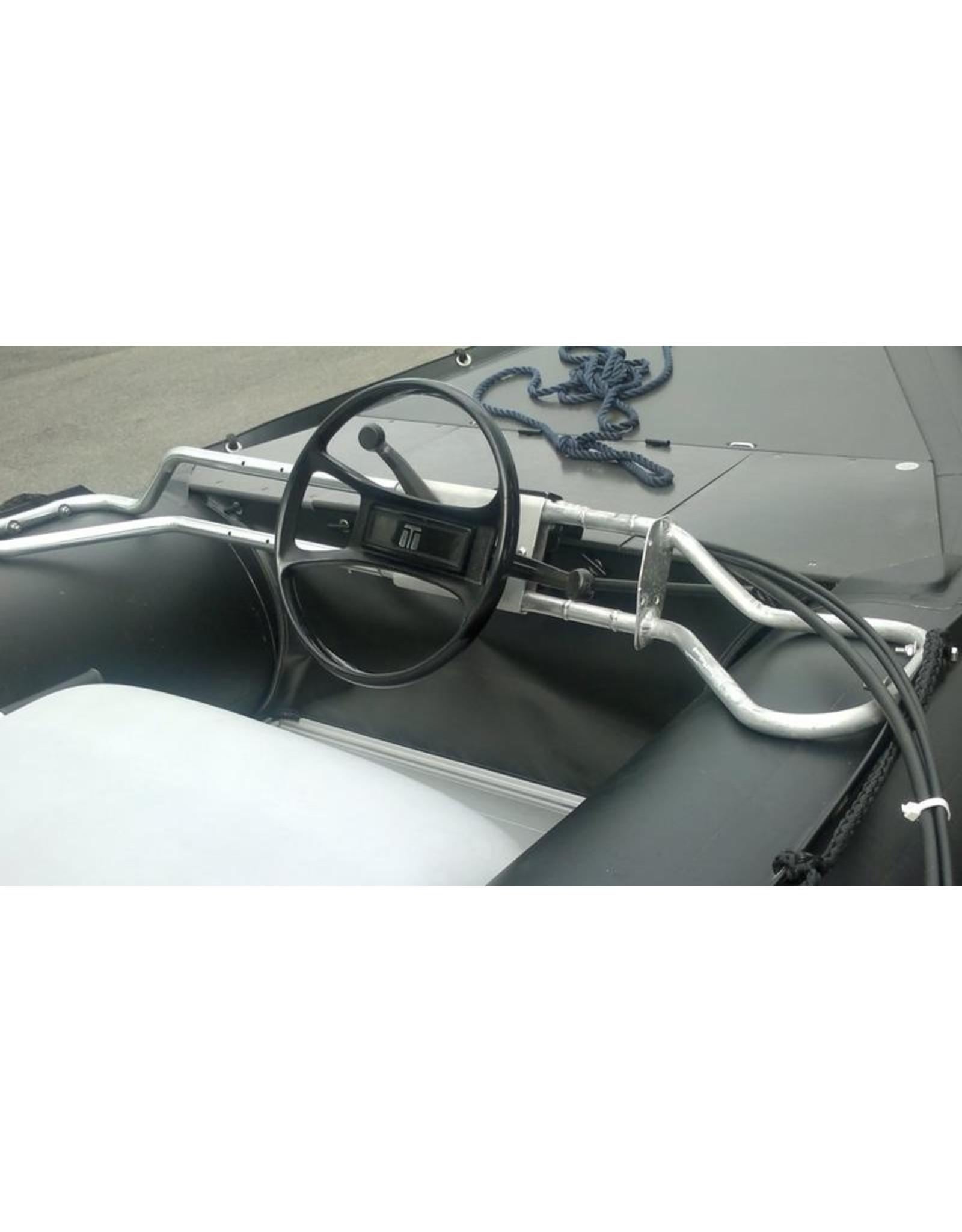 Quicksilver Stuurbeugel incl stuursysteem (8ft.) voor rubberboot