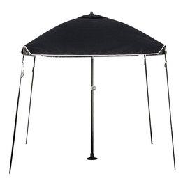 Protecq Protecq Bimini parasol 200x200cm zwart Knik