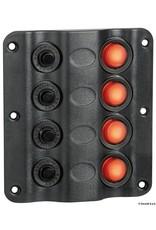 Osculati  Wave elektrisch bedieningspaneel 4 schakelaars
