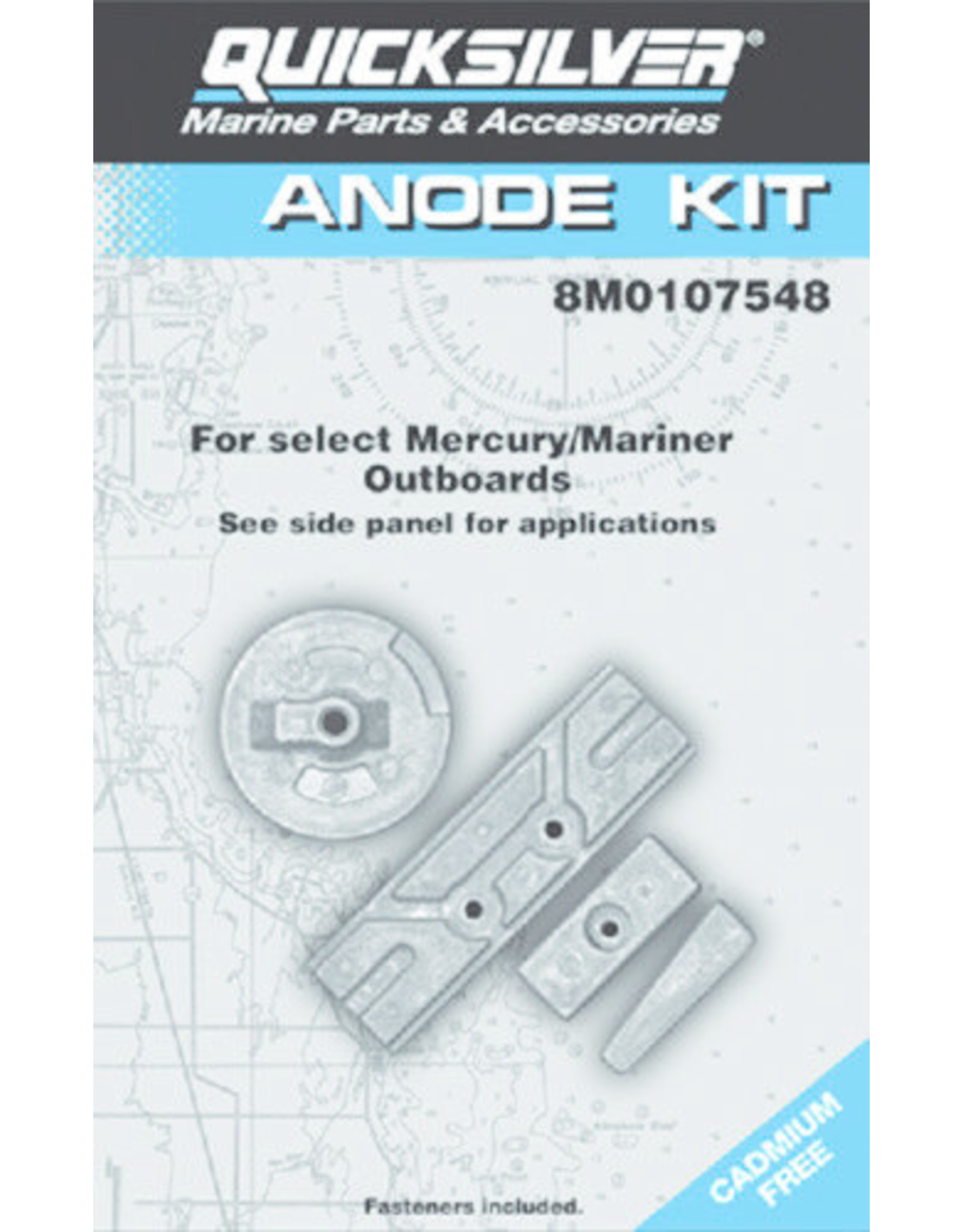 Quicksilver Mercury / Quicksilver Anode kit