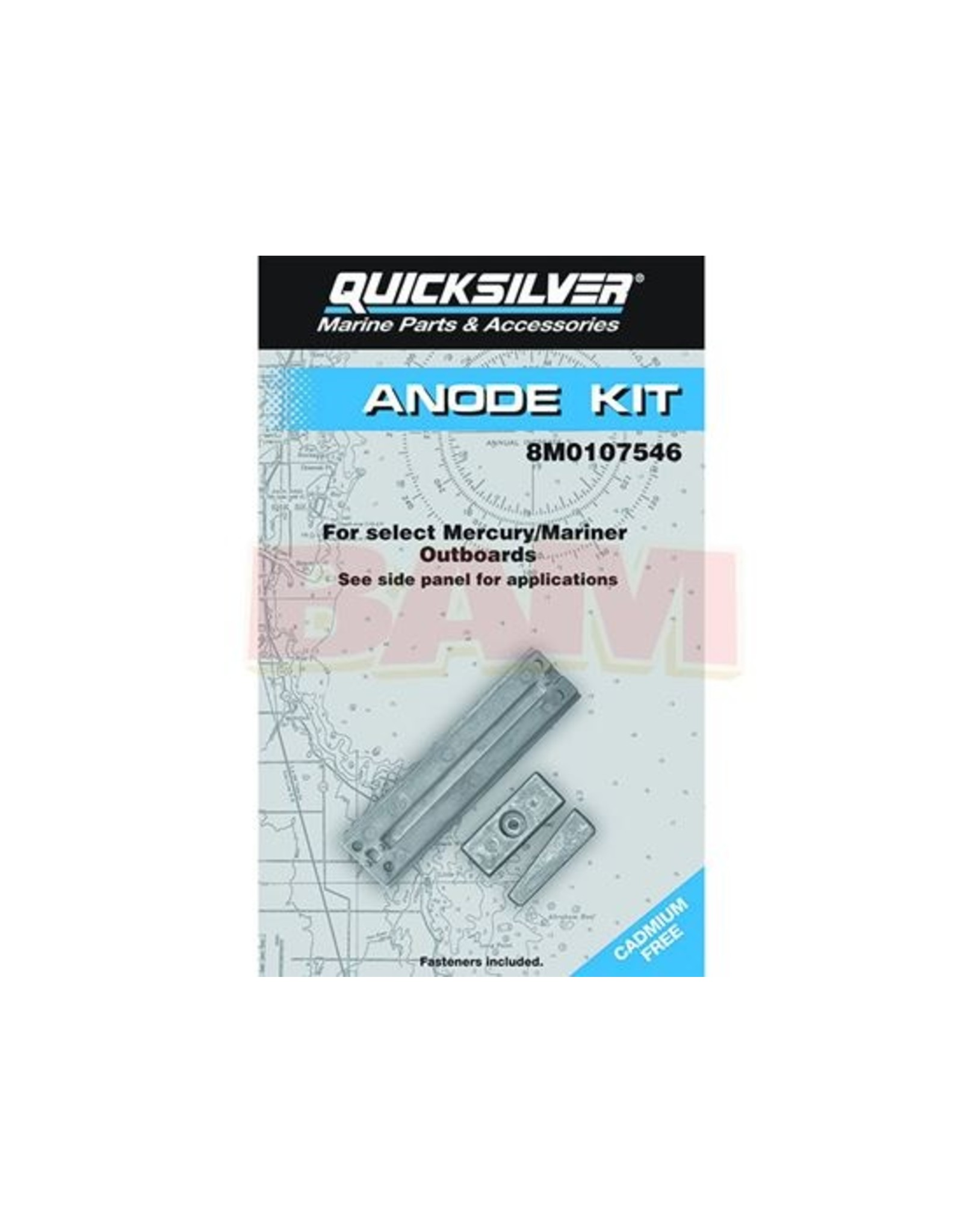 Mercury Mercury / Quicksilver Anode kit