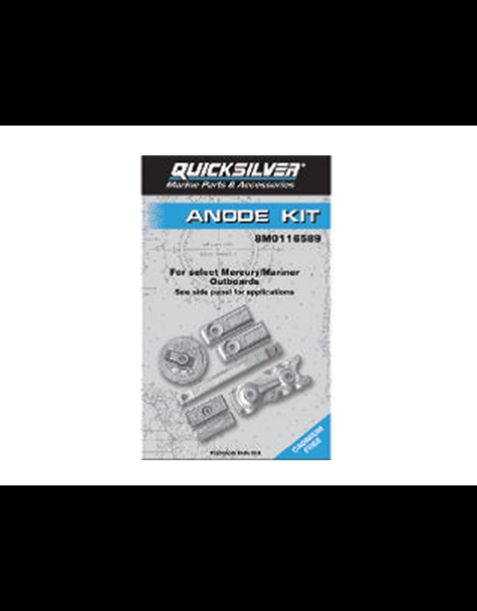 Mercury Mercury / Quicksilver Anode kit 8M0116589