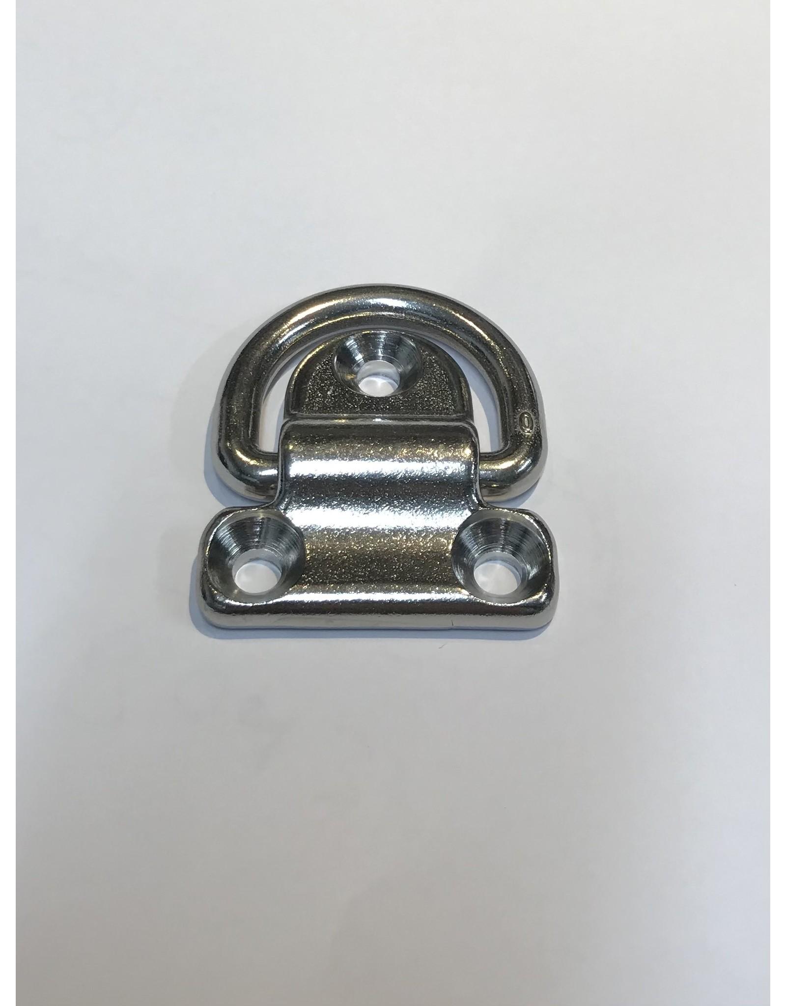 Osculati 3-hole foldable ring AISI316