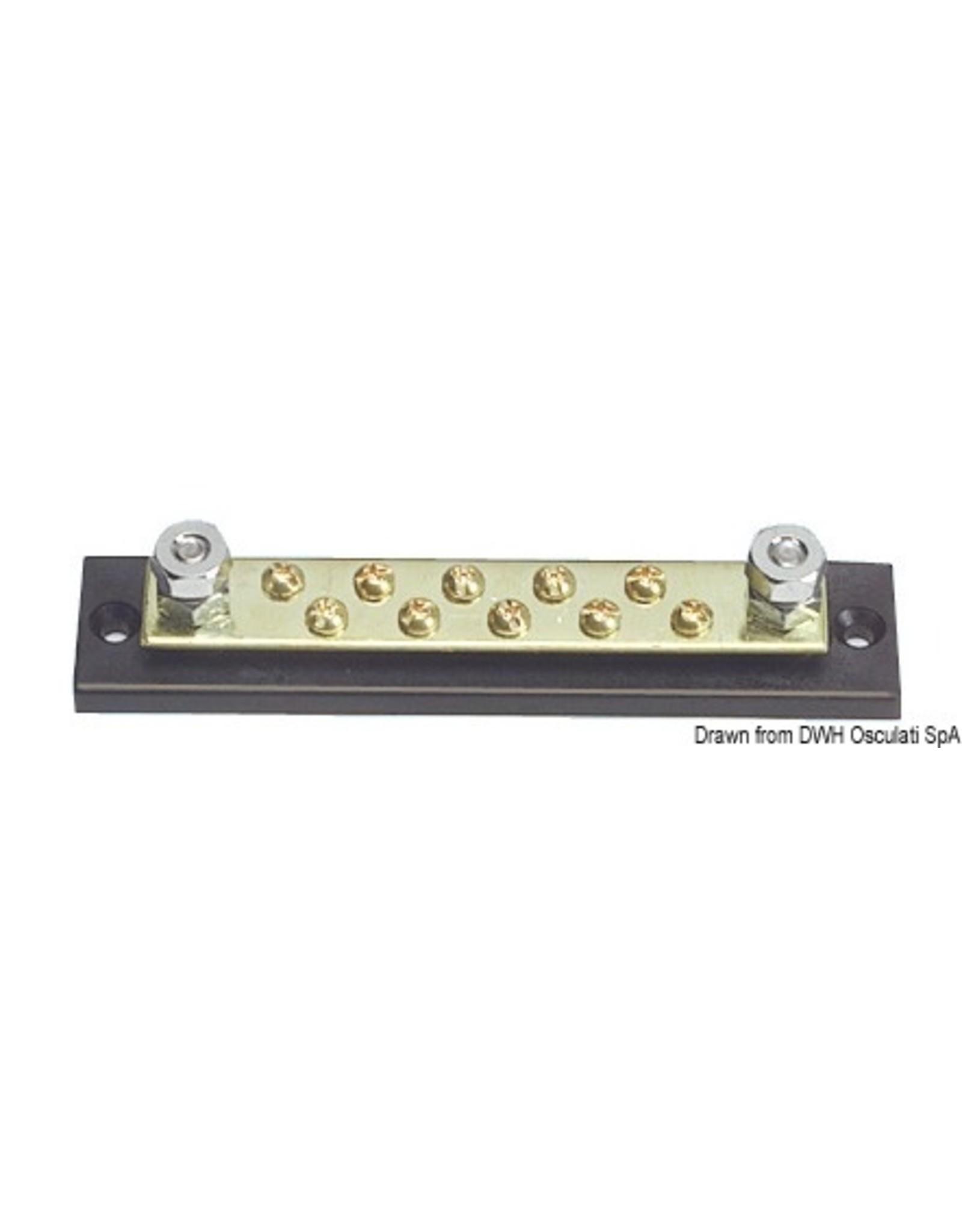 Osculati Busbar elektrisch klemmenbord 10 x 4 mm