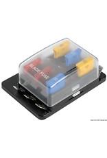 Osculati  Zekeringhouderbox met waarschuwingslampjes 6 behuizingen