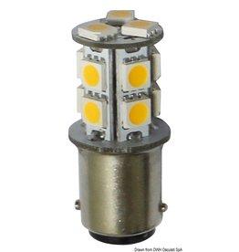 Osculati Ledlamp 12/24 V BA15D 2 W 140 lm