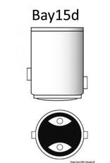 Osculati  BAY15D LED-lamp, offset pinnen voor navigatieverlichting