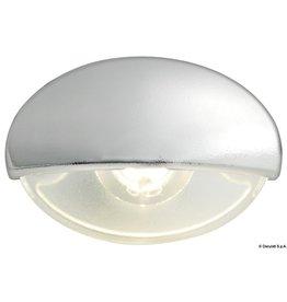 Osculati Trapverlichting LED Wit & Blauw instapverlichting verchroomde behuizing