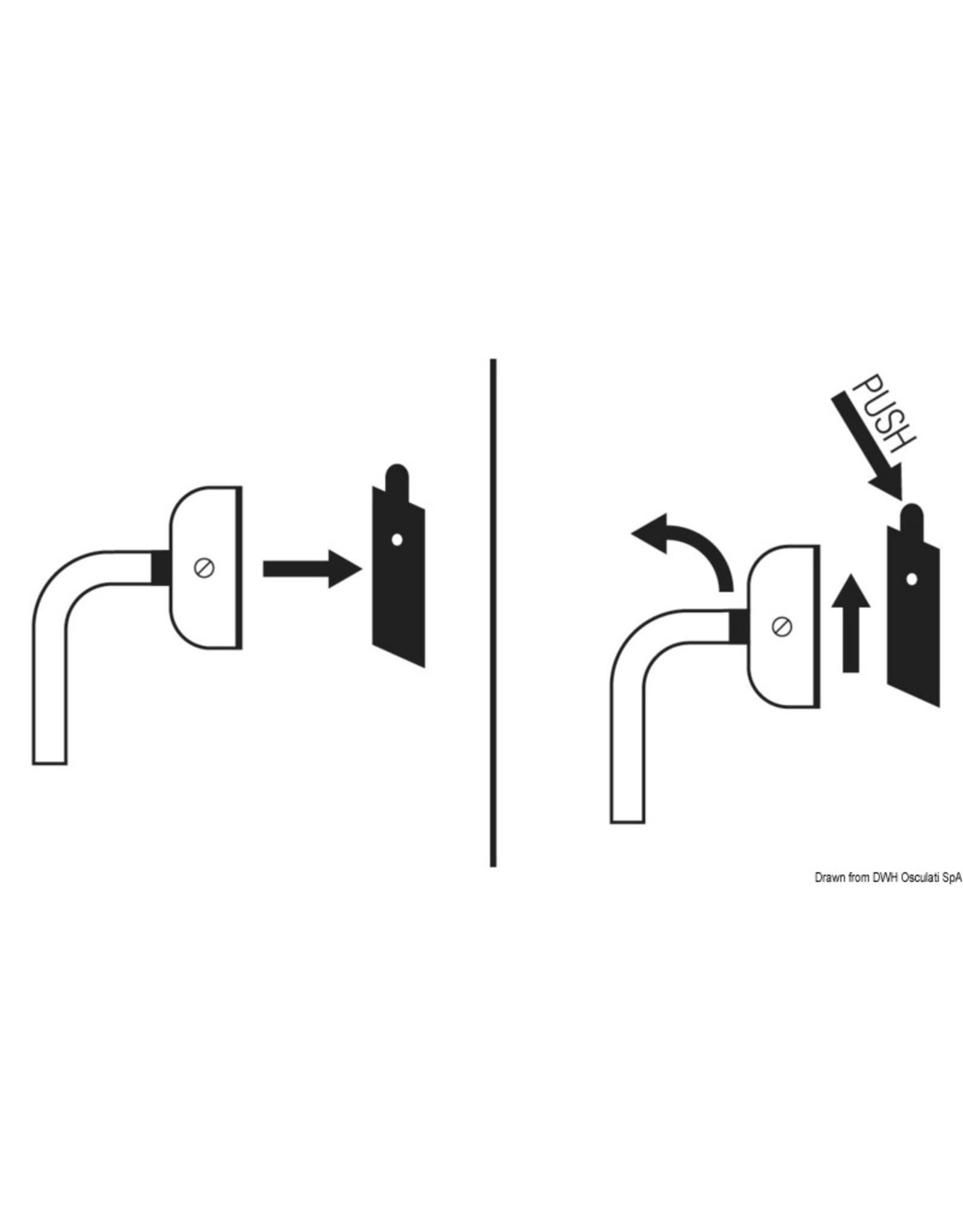 Osculati Snelkoppelingsset voor roestvrijstalen ladders