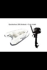 Quicksilver Quicksilver 250  Airdeck + Mercury 2.5/5 pk 4-takt
