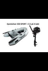 Quicksilver Quicksilver 250 SPORT  + Mercury 3.5/8 pk 4-takt