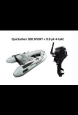 Quicksilver Quicksilver 300 SPORT  + Mercury 4/15 pk 4-takt