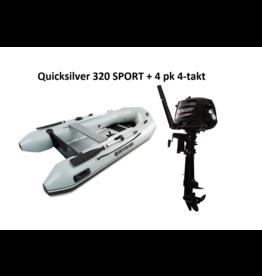 Quicksilver Quicksilver 320 SPORT + Mercury 4/20 pk 4-takt