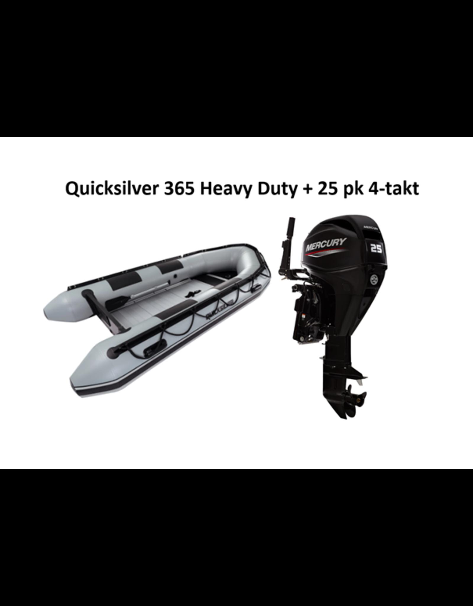 Quicksilver Quicksilver 365 Heavy Duty + Mercury 6/25 pk 4-takt