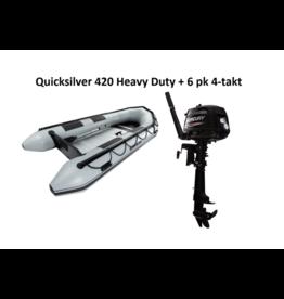 Quicksilver Quicksilver 420 Heavy Duty + Mercury 6/40 pk 4-takt