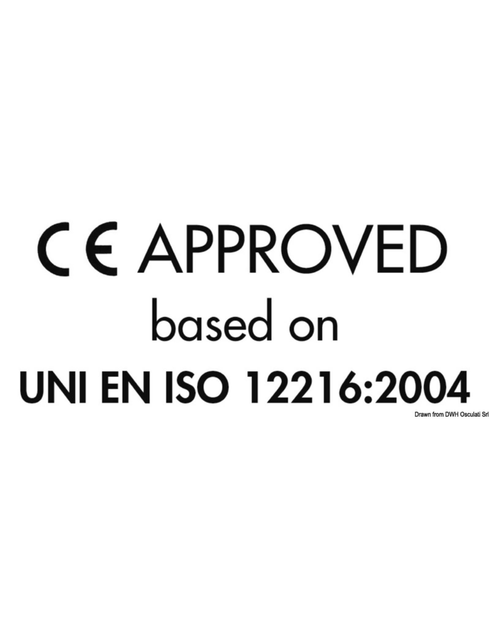 Osculati  Inspectieluik met deksel wit 265 x 215 mm