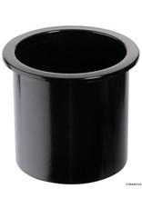 Osculati  Inbouw glashouder ABS zwart/ wit
