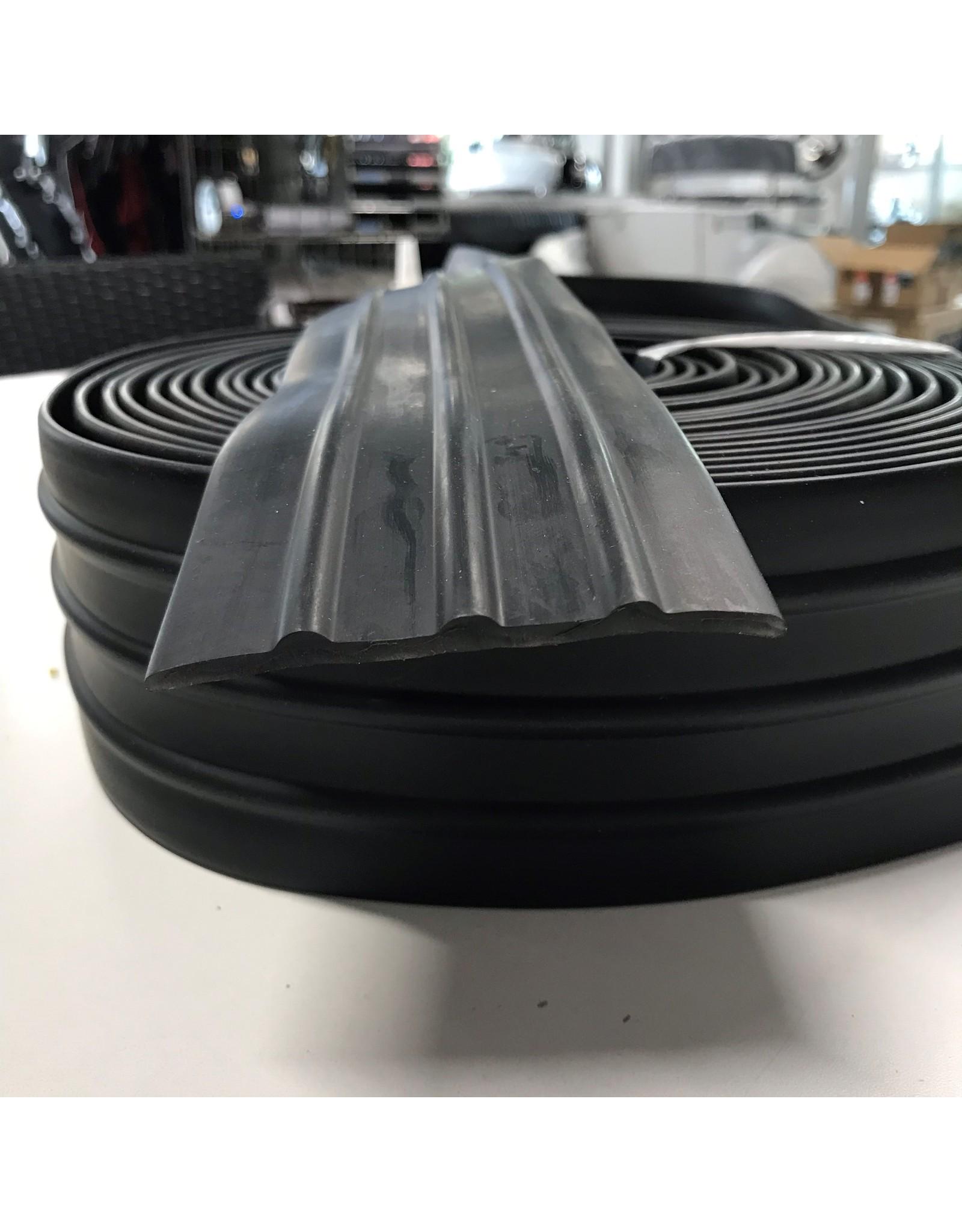 Hebor Watersport Kielstrip/stootrand 80mm zwart