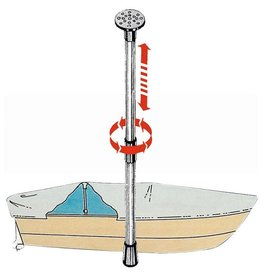 Osculati Uitschuifbare zeildoeksteun 75/120 cm