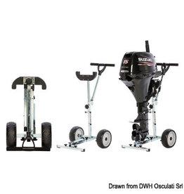 Osculati Motorkar met inklapbare wielen