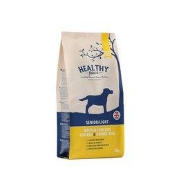 Healthy paws Healthy paws senior / light vrije uitloop kip / zilvervliesrijst