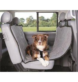 Trixie Trixie auto-hondendeken 4-seasons zwart grijs