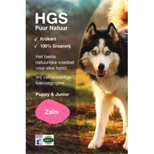 HGS Puur Natuur Hondenbrokken Puppy & Junior Zalm (Krokante & Graanvrije brok) - GRATIS thuisbezorgd!