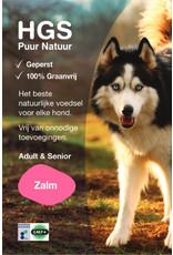 HGS Puur Natuur HGS Puur Natuur Hondenbrokken Adult & Senior Zalm (Geperst & Graanvrij)