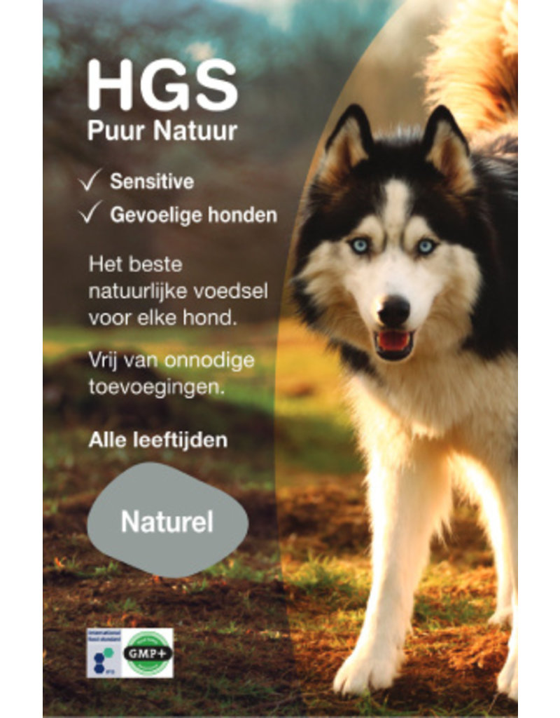 HGS Puur Natuur HGS Puur Natuur Hondenbrokken Adult Sensitive Naturel Gehydrolyseerd