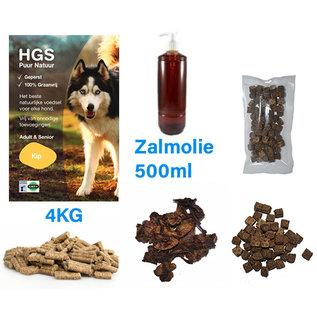 HGS Puur Natuur HGS Puur Natuur Voordeel Voer & Snack Pakket