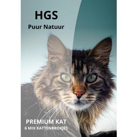 HGS Puur Natuur 10 KG Premium Kat 6 Mix Kattenbrokjes