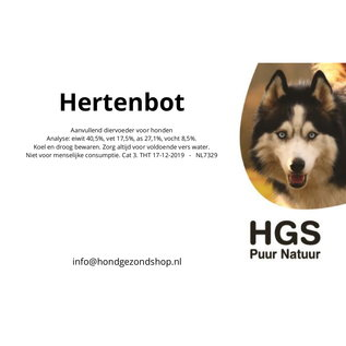 HGS Puur Natuur HGS Puur Natuur 100% Natuurlijk Hertenbot