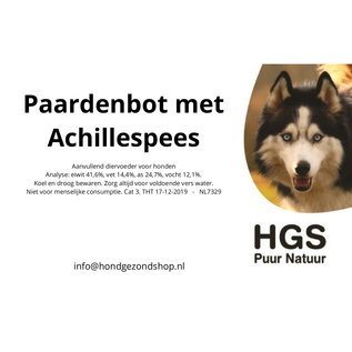 HGS Puur Natuur HGS Puur Natuur 100% Natuurlijk Paardenbot Met Achillespees