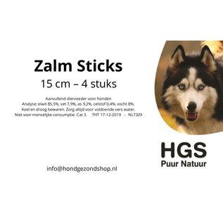 HGS Puur Natuur HGS Puur Natuur 100% Natuurlijke Zalm Sticks - 15 cm