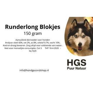 HGS Puur Natuur HGS Puur Natuur 100% Natuurlijke Runderlong Blokjes