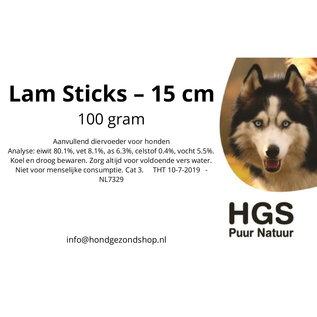HGS Puur Natuur HGS Puur Natuur 100% Natuurlijke Lamsticks - 15 cm